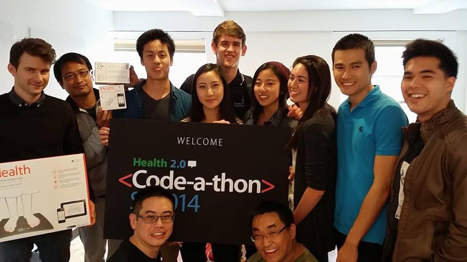 Edge Interns team at Health 2.0 SF Code-a-thon 2014